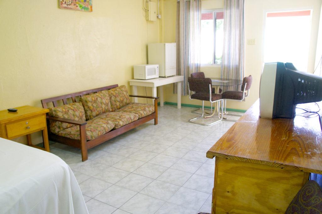 Irie Inn Room 5 Living Room